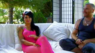 Video interview porno with Jenny Hard photo 1