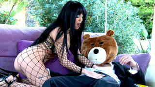 The naughty drunk bear books an escortphoto 1